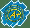 A+ Gutter & Window Cleaning – Kamloops & Salmon Arm, B.C. Logo
